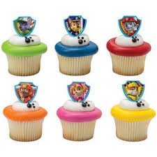 Amazon DecoPac Paw Patrol Ruff Ruff Rescue Cupcake Rings