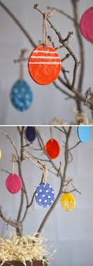 salt dough easter eggs easy diy for lasting ornaments