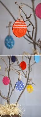 easter ornament tree salt dough easter eggs easy diy for lasting ornaments