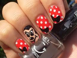 easy minnie mouse nail art beauty intact youtube hello kitty