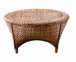 round wicker end table fong brothers co woven