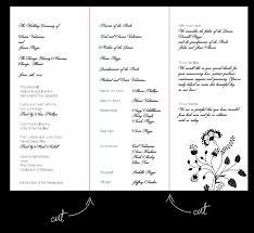 Wedding Party Program Template Table Numbers Menu Cards Wedding Ceremony Program Etc U2026