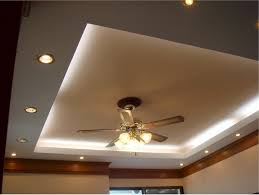 Kitchen Ceiling Fan With Light by Bedroom Cove Lighting With Recessed Lighting Setup And Classy