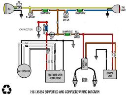simple xs650 wiring diagram underground wiring u2022 wiring diagrams