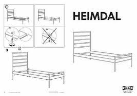 Heimdal Bed Frame Ikea Heimdal Footboard Furniture User Guide For