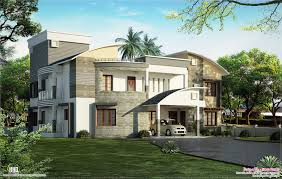 Floor Plans Luxury Homes Modern Luxury Villa Design Kerala Home Design And Floor Plans With