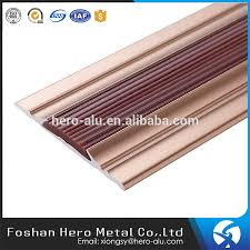 colorful anti slip rubber flooring transition strips pvc reducer