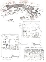 vintage house plans 1960s tudor l shape cool floor plan for ranch