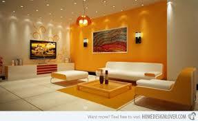 Dazzling Orange Living Room Design  Close To Fruity Designs On - Orange living room design