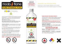 amazon com moda flame premium bio ethanol fireplace fuel 12