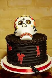 day of the dead wedding cake day of the dead cake a day to remember