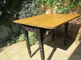 Drop Leaf Table Uk Victorian Pine Drop Leaf Table Antiques Atlas
