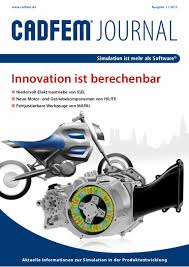 cadfem journal innovation ist berechenbar