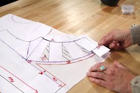dress pattern without darts how to manipulate darts on a bodice to make princess seams