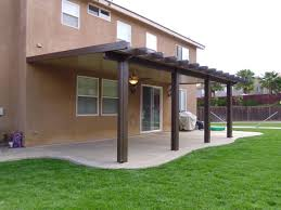 patio cover lights southern california patios solid patio cover gallery 2