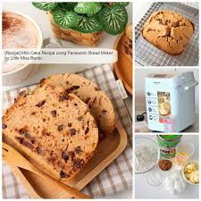 Can You Use Regular Flour In A Bread Machine Milo Cake Recipe Using Panasonic Bread Maker Little Miss Bento