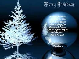 merry everyone snow is falling wmv