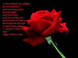 what would be your mother u0027s day message for your mom