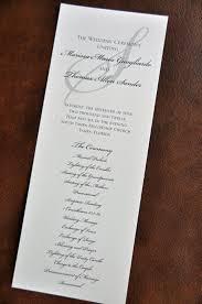 Church Wedding Programs Wedding Program Amanda Wiregrass Weddings