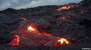 what are lava ls made of how do you stop the flow of lava bbc news