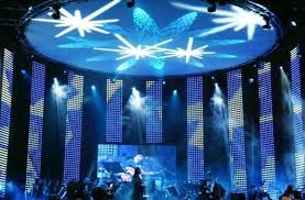Curtain Led Display Indoor Curtain Led Display