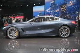bmw concept 8 series side profile at iaa 2017 indian autos blog