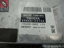 lexus toyota engine 97 01 toyota windom lexus es300 engine control unit ecu 89666