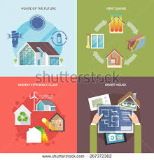 energy efficient house designs energy efficient house stock images royalty free images vectors