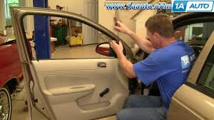 how to install replace manual side rear view mirror chevy cobalt