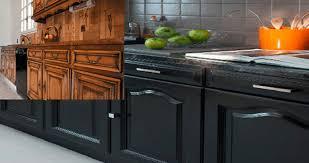repeindre cuisine comment repeindre une cuisine en chêne renovationmaison fr