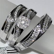 wedding ring trio sets trio wedding rings trio wedding set three mens band and