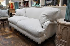 english roll arm sofa slipcover corrine english roll arm striped sofa mecox gardens