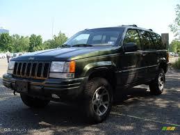 jeep grand cherokee green 1997 moss green pearl jeep grand cherokee orvis 4x4 15519449