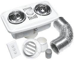 instant heat 2 lamps fan u0026 light kit