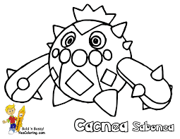 smooth pokemon coloring sheets numel milotic free kids