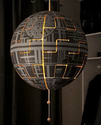 Ikea Lights Hanging by I Turned Ikea Lamp Into A Death Star Bored Panda