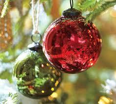 mercury glass ornaments silver and gold le mercury gl ornaments