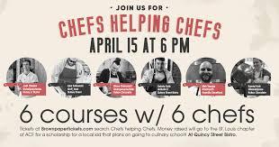 chef de cuisine st louis chef s helping chefs events acf chefs de cuisine association of