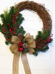 How To Decorate A Christmas Wreath Best 25 Homemade Christmas Wreaths Ideas On Pinterest Diy