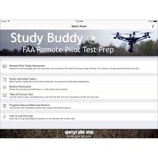 sporty u0027s drone study buddy remote pilot test prep iphone ipad