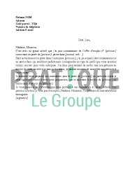 lettre de motivation pour femme de chambre lettre de motivation en réponse à une annonce pratique fr