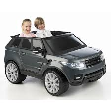 land rover electric licensed range rover sport 2 seater 12v electric ride on car grey