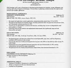 web developer resume lukex co