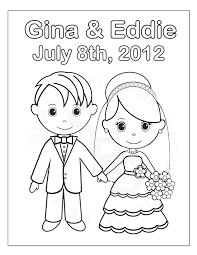 wedding dress coloring page for girls printable free at dresses