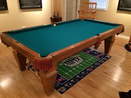 How Much To Refelt A Pool Table by Brunswick Billiards Citidel Pool Table 8 U0027 Used Pool Tables For