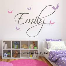 28 kids name wall stickers baby mickey mouse personalised kids name wall stickers butterflies custom personalized name wall stickers decals