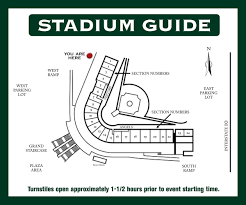 Arizona Stadium Map by Diablo Stadium City Of Tempe Az