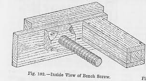 Wooden Bench Vise Screws by Wooden Bench Screws A Woodworker U0027s Musings