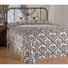 astor black u0026 white bedding comforter collection