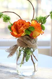 jar flower arrangements fall jar flower arrangement jar crafts